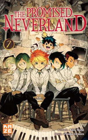 Manga - The Promised Neverland - Tome 07