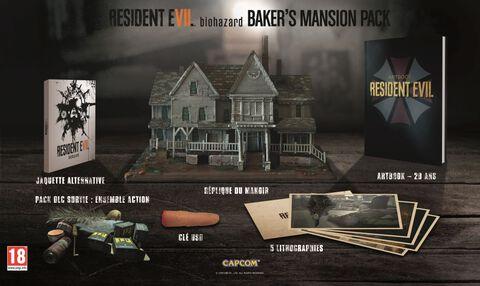 Baker's Mansion Pack Resident Evil 7 (sans le jeu)