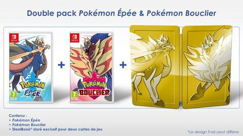 Pack Pokemon Bouclier + Pokemon Epée