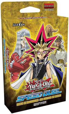 Decks - Yu-Gi-Oh! - Speed Duel Maîtres ou Duellistes