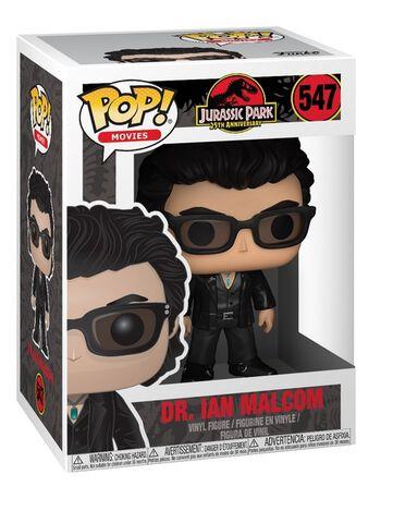 Figurine Funko Pop! N°547 - Jurassic Park - Docteur Ian Malcolm