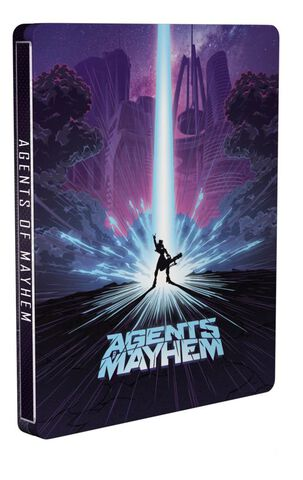 Agents of Mayhem Steelbook Edition - Exclusivité Micromania