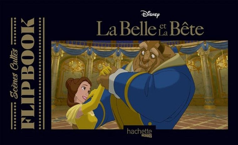 Livre - Flip Book - La Belle et la Bête