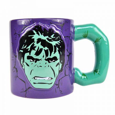 Mug - Marvel - Hulk - En relief