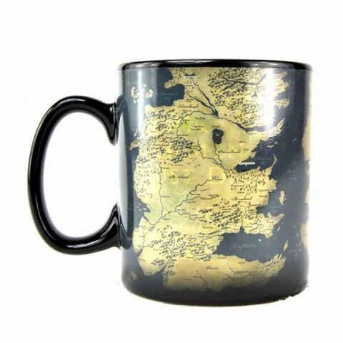 Mug - Game Of Thrones - Heat Change Carte All Men Must Serve