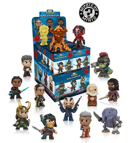 Figurine Mystere - Mystery Mini - Marvel - Thor Ragnarok - Collection 3