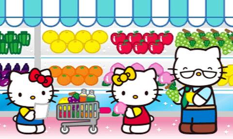 Hello Kitty Happy Happy Family + Pochette