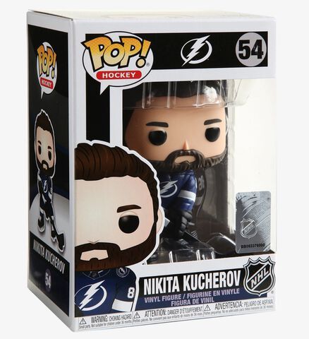 Figurine Funko Pop! N°54 - Nhl : Lightning - Nikita Kucherov (home Jersey)
