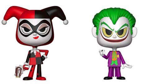 Figurine Vynl - DC Comics - Twin Pack Harley