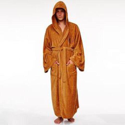 Peignoir de bain - Star Wars - Jedi Tan Logo Adulte - Taille unique