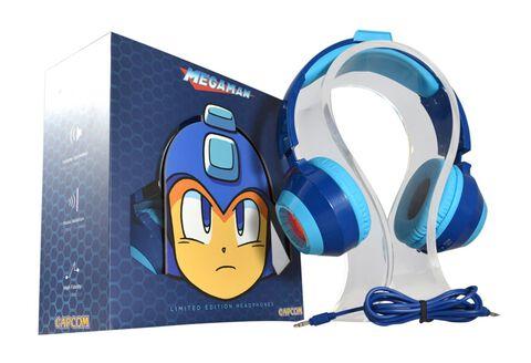 Casque Audio Universel HD Filaire Retroéclairé - Edition Megaman