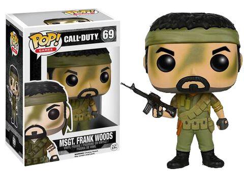 Figurine Funko Pop! N°69 - Call Of Duty - Msgt. Frank Woods