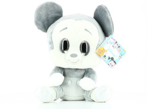 Peluche - Mickey - Brillant Gris 35 cm - Exclusivité Micromania-Zing