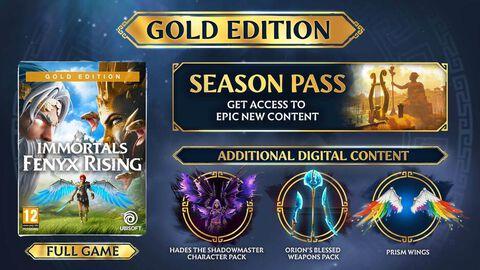 Immortals Fenyx Rising Gold Edition - Versions Xbox Series et