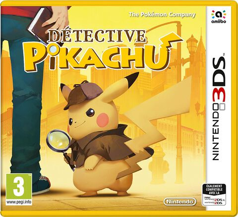 Détective Pikachu - Jeu complet - Version digitale