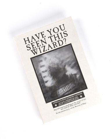 Carnet de notes - Harry Potter - Poster Sirius Lenticulaire