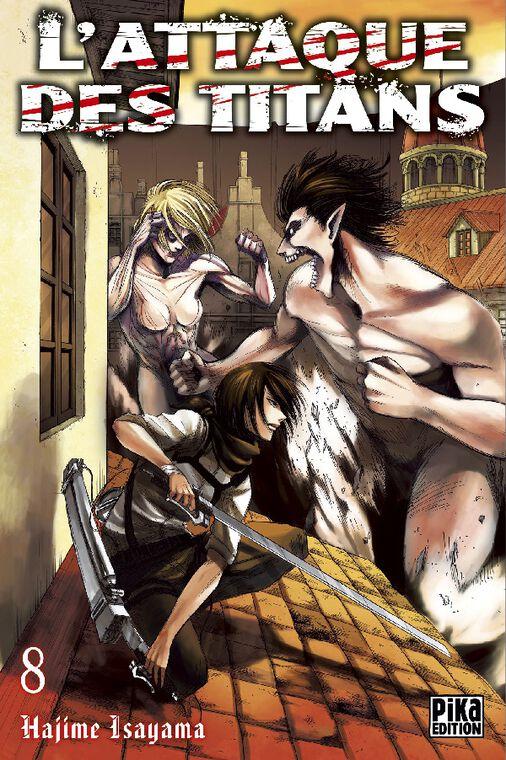 Manga - L'Attaque des Titans - Tome 08