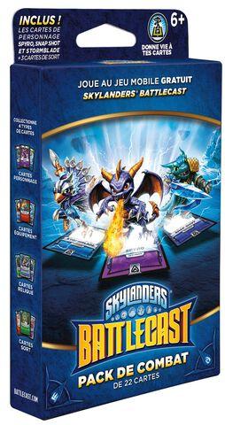 Figurine Skylanders Battlecast - Pack Combat A