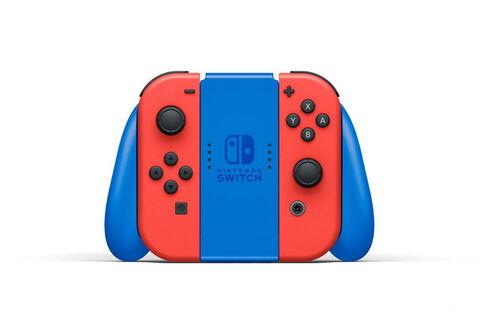 Nintendo Switch Edition Limitée Mario (rouge Et Bleu)