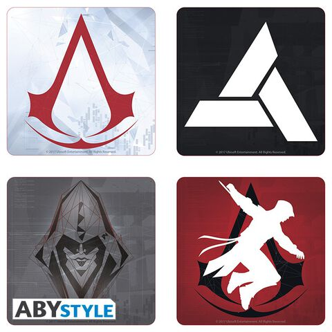 Dessous de verre - Assassin's Creed - Set de 4 Générique