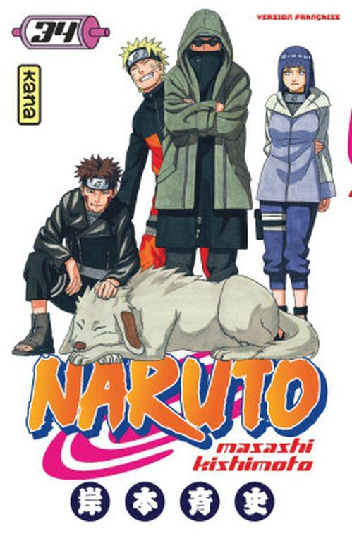 Manga - Naruto - Tome 34