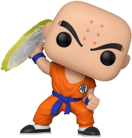 Figurine Funko Pop! N°706 - Dragon Ball Z S7 - Krillin W/ Destructo Disc