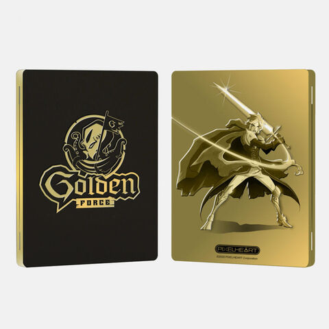 Golden Force Steelbook Just Limited