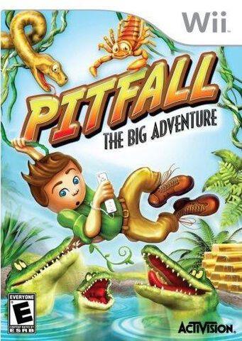 Pitfall La Grande Aventure Wii Fun 4 All