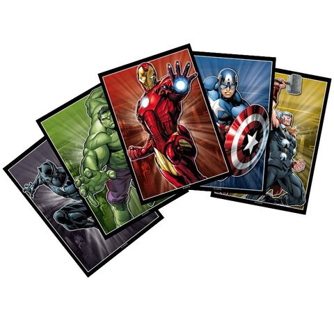 Cartes postales - Marvel - Set de 5 (14,8 x 10,5)