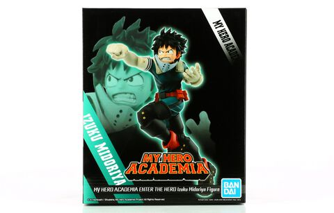 Figurine - My Hero Academia - Enter The Hero Izuku Midoriya