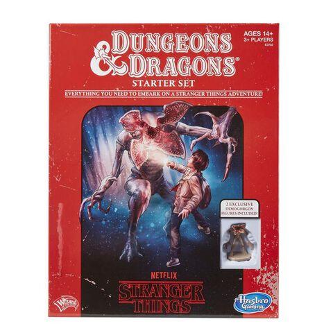 Jeu de société Dungeons & Dragons - Stranger Things - Version anglaise