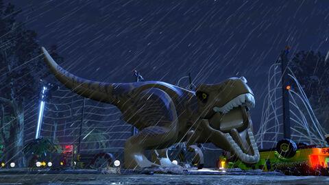 * Lego Jurassic World