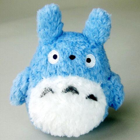 Peluche - Studio Ghibli - Fluffy Medium Totoro 14 Cm