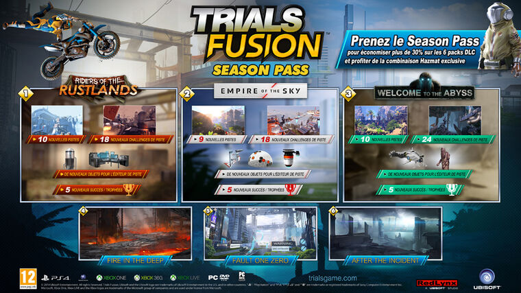 Trials Fusion - Season Pass - Version digitale