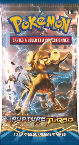 Cartes - Booster Pokémon XY Rupture Turbo