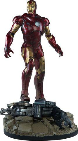 Statuette Sideshow - Iron Man -  Iron Man Mark III 57 cm