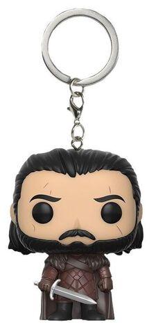 Porte-clés Funko Pop! - Game of Thrones S7 - Jon Snow