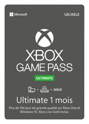 Xbox Ultimate Game Pass 1 Mois