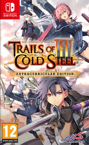 The Legend Of Heroes Trails Of Cold Steel 3 Extracurricular Edition