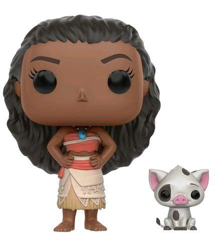 Figurine Funko Pop! N°213 - Vaiana - Vaïana & Pua