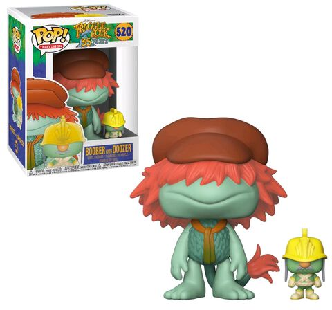 Figurine Toy Pop N°520 - Fraggle Rock - Boober avec Doozer