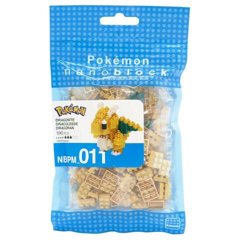 Figurine à monter Nanoblock - Pokémon - Dracolosse