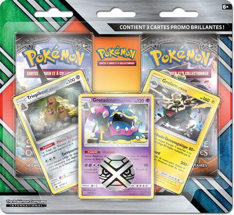 Booster - Pokémon - Pack 2 Boosters Soleil et Lune