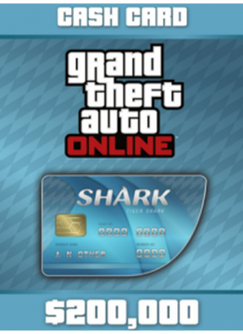 Dlc GTA V Tiger Shark - 200 000 GTA Dollars