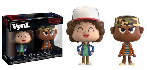 Figurines Vynl. - Stranger Things - Dustin + Lucas 10 cm