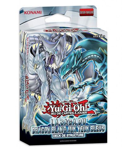 Deck De Demarrage - Yu-gi-oh! - La Saga Du Dragon Blanc Aux Yeux Bleus