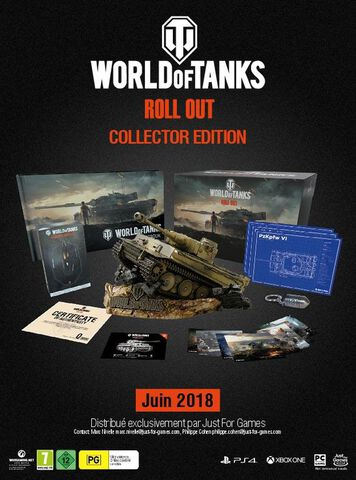 Coffret World Of Tanks Collector's Edition Ps4/x1/pc