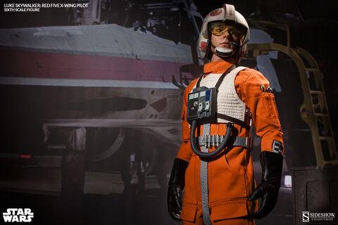Figurine Sideshow - Star Wars - Luke Skywalker Red Five X-Wing Pilot 30 cm