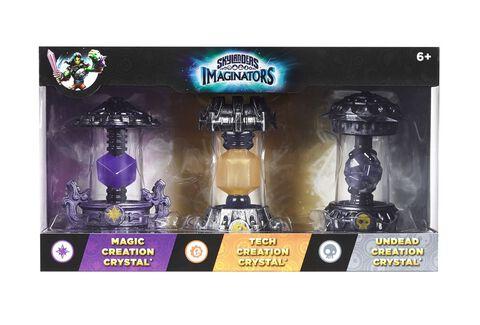 Skylanders Imaginators - Triple Pack Cristaux Magie/Tech/Mort-vivant