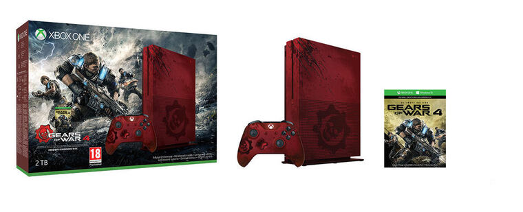Xbox One S 2 To Gears of War 4 Limited Edition